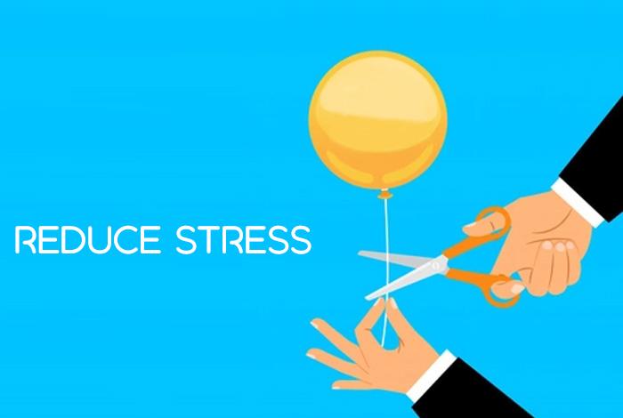 तनाव को कम करने में मदद करें