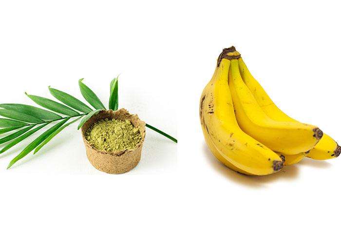 Banana-and-henna-hair-pack